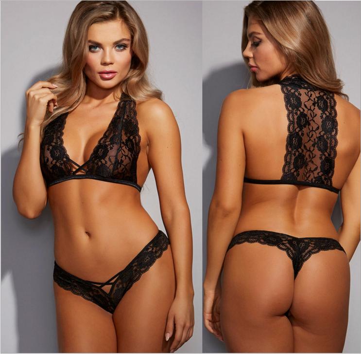 Sexy Lace Set Black