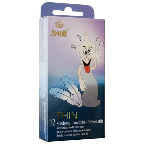 Amor - Thin Condoms 12 pcs