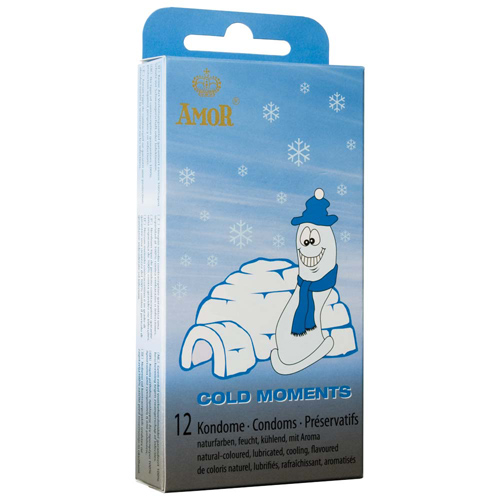Amor - Cold Moments Condoms 12 pcs