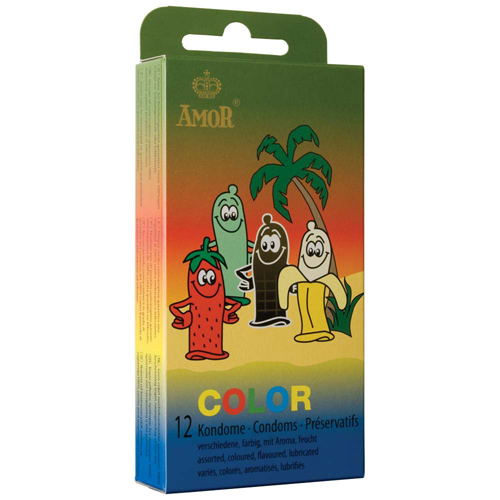 Amor - Color Mixed Fruit 12pcs