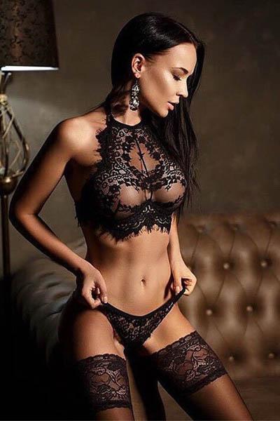 Lace Set Black