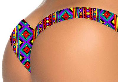 Bikini Bottom Colourful
