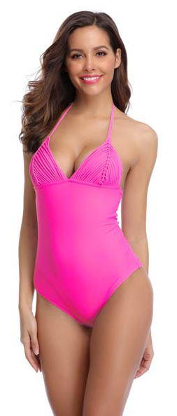 Monokini Dark Pink