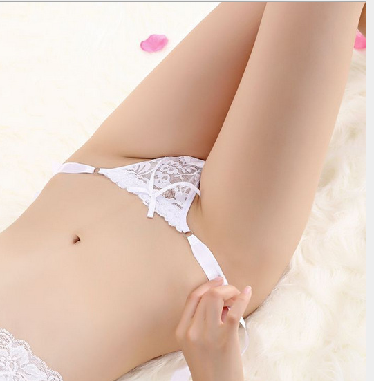 Sexy Lace G-String White