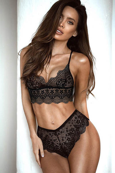 Lace Bra Set