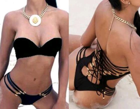 Monokini Brazilian Black