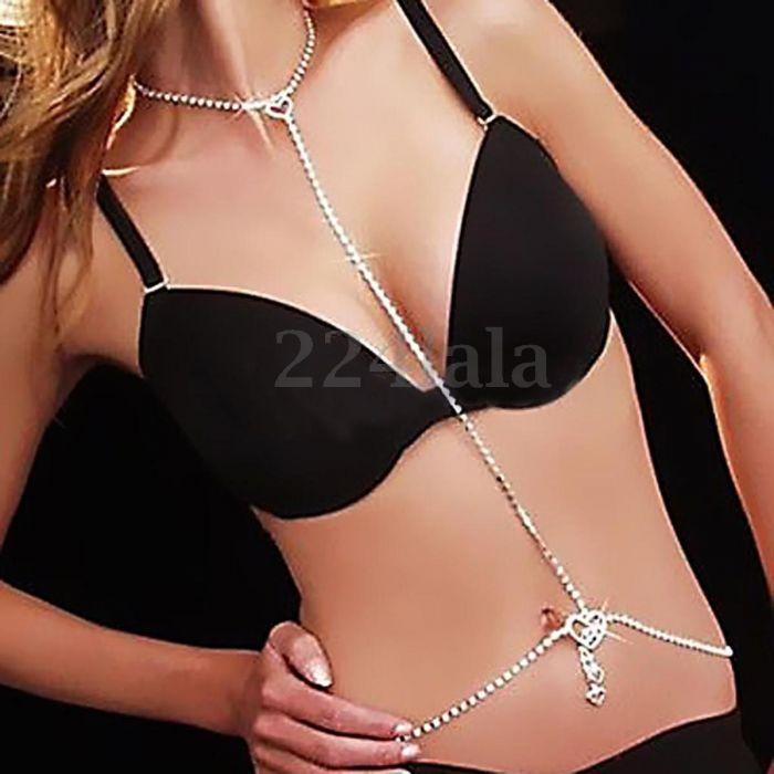 Body Chain Silver