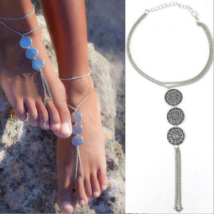 Ankle Bracelet Silver
