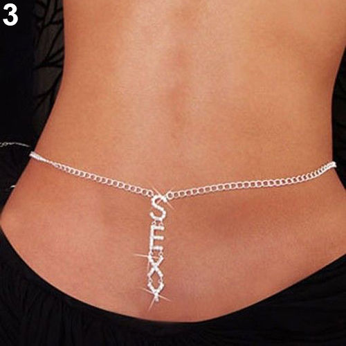 Belly Chain Silver