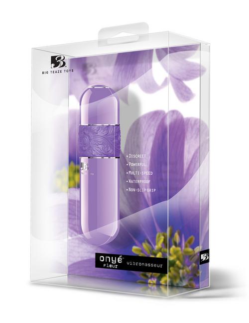 Big Teaz Toys - B3 Onye Fleur Vibrator Purple