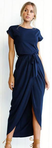 Maxi Dress Navy