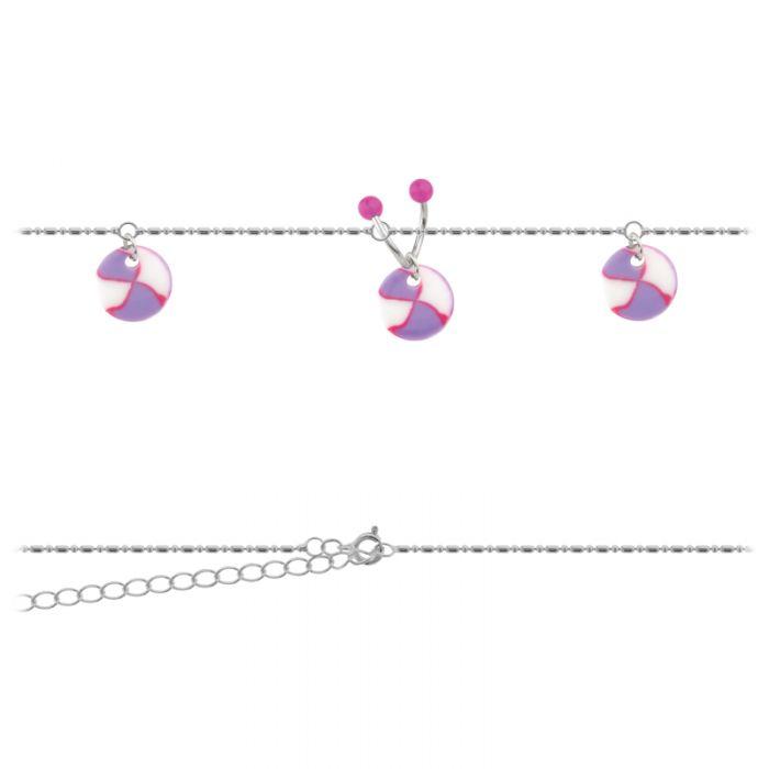 Belly Chain Purple