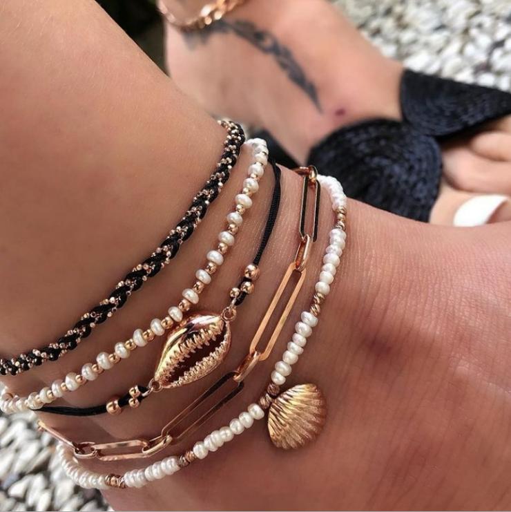 Ankle Bracelet Gold