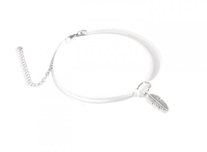 Neckband White/Silver
