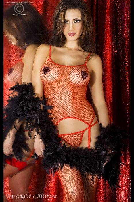 Chilirose Complete Erotic Set red
