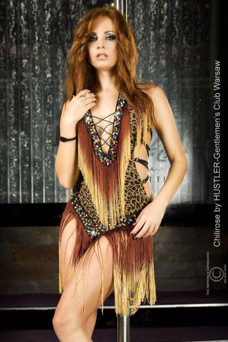 Chilirose Bellydance Dress brown