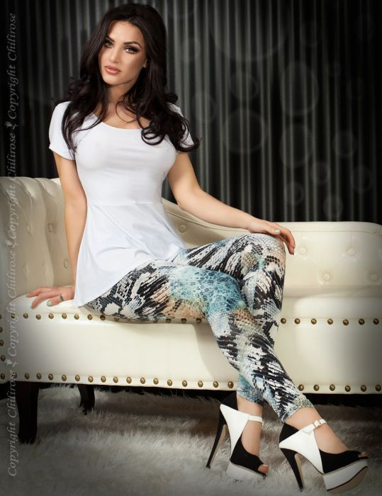 Chilirose Leggings Blue