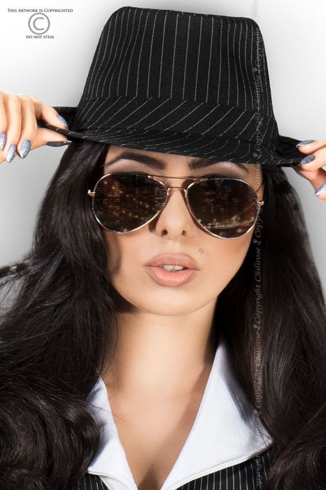 Chilirose Gangster Hat