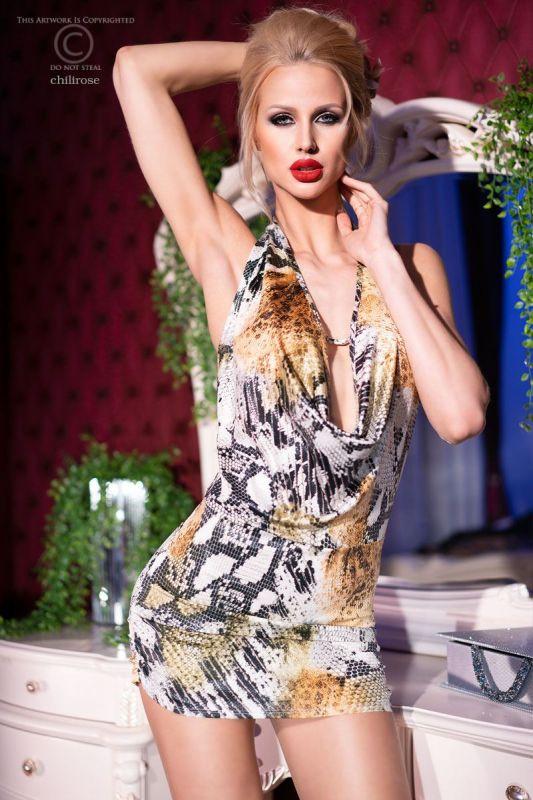 Chilirose Sexy Snake Dress