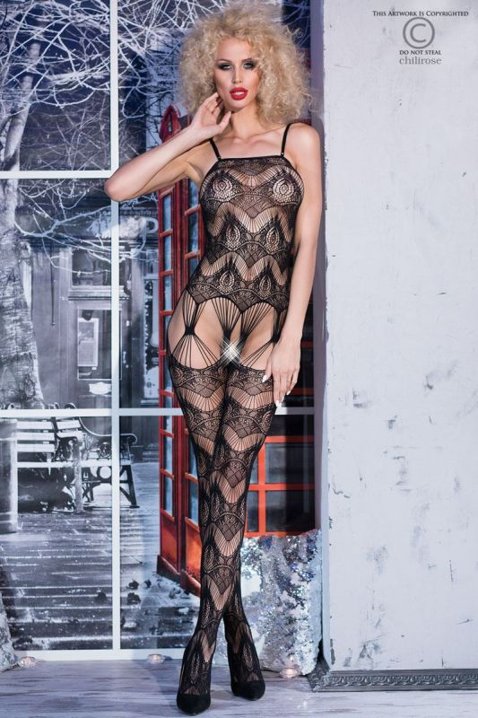 Chilirose Thrilling Bodystocking