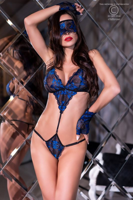 Chilirose Body Blue-Black