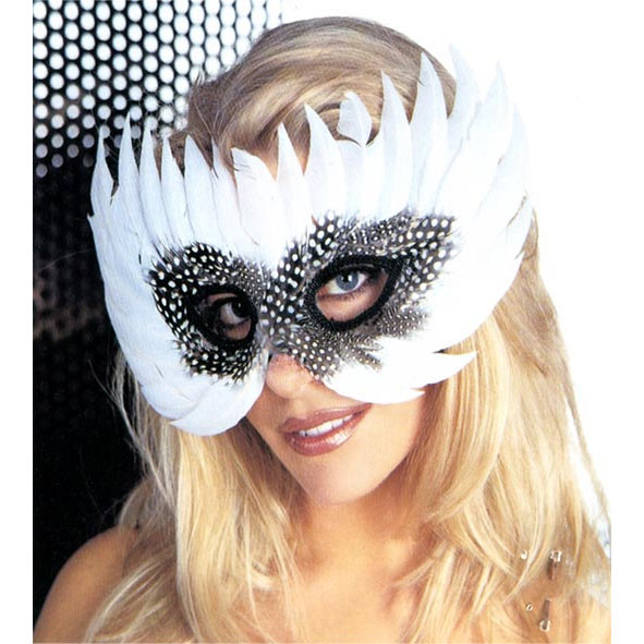 Festiva Exotic Mask - White