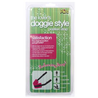 Sportsheets - I Like It Doggie Style Strap Pink