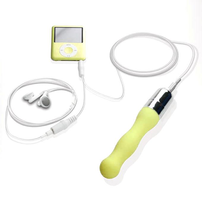 Naughtibod - iPod Vibrator - Yellow