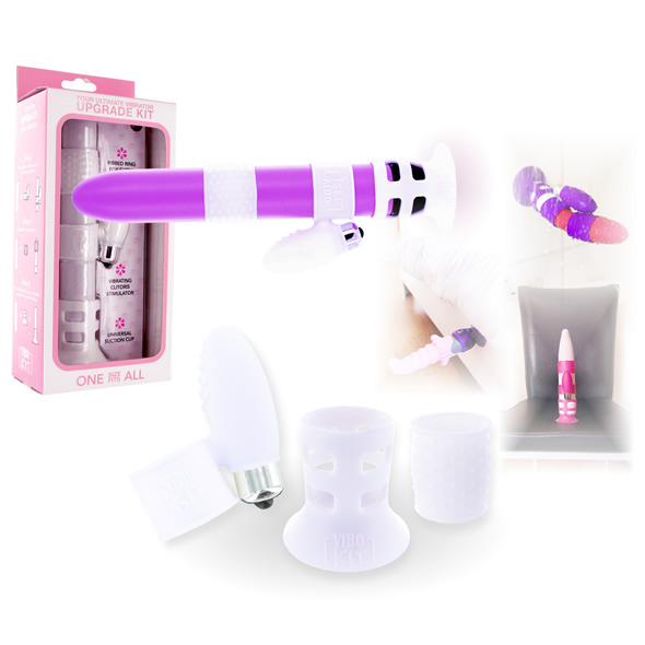 ViboKit - Vibrator Upgrade Kit - White