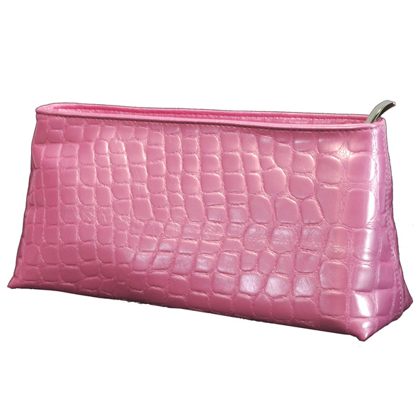 Devine Carry-on Pink Croco