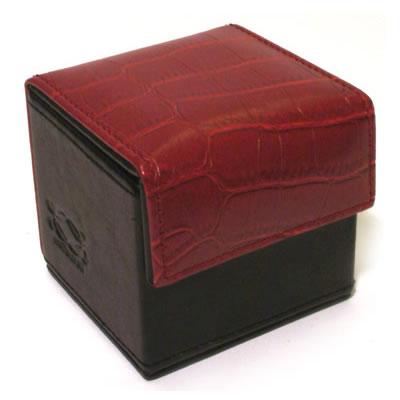 Condom Cube Red Croco
