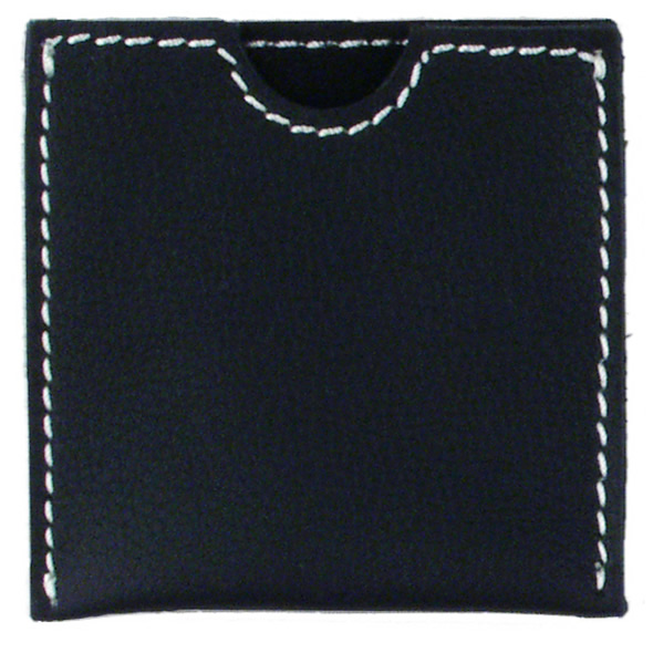 French Envelope Black Nubuck