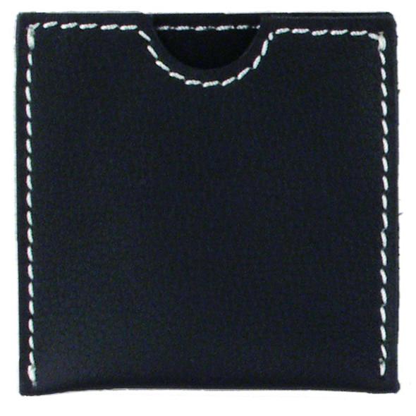 French Envelope Black Nubuck