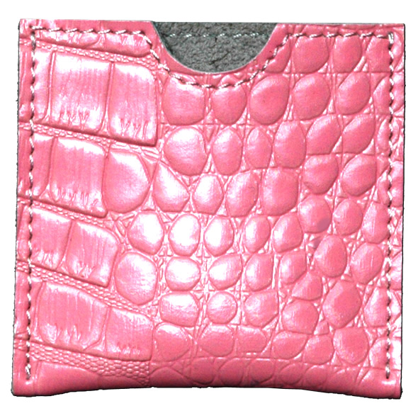 French Envelope Pink Croco