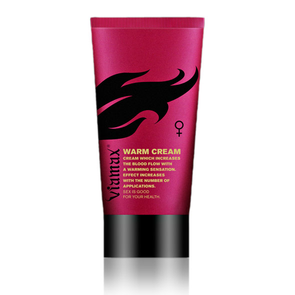 Viamax Female Sensation - Warm Cream 50 ml