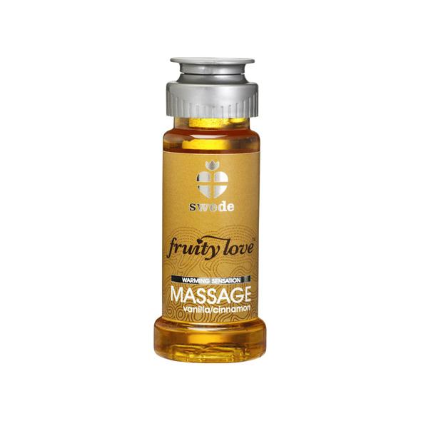 Swede - Fruity Love Massage Vanilla Cinnamon 50 ml