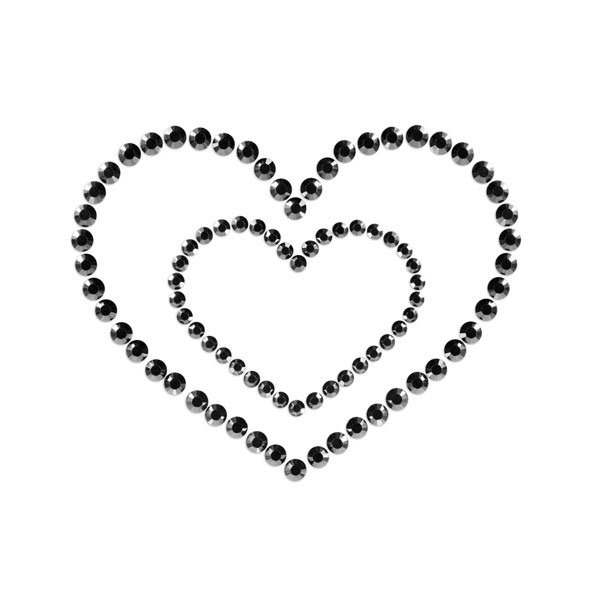 Bijoux Indiscrets - Mimi Heart Black