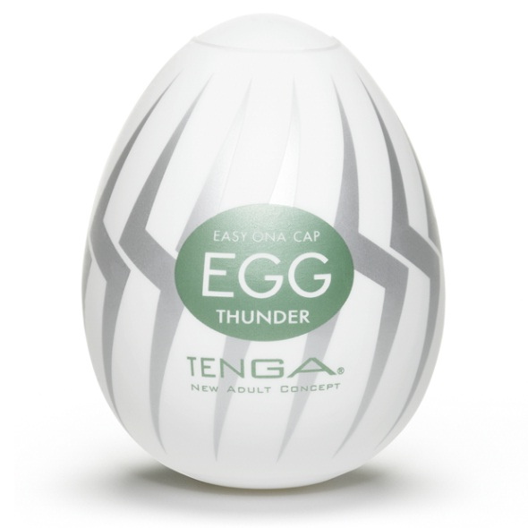 Tenga - Egg Thunder (6 Pieces)