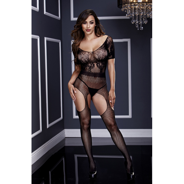 Baci - Crotchless Suspender Bodystocking