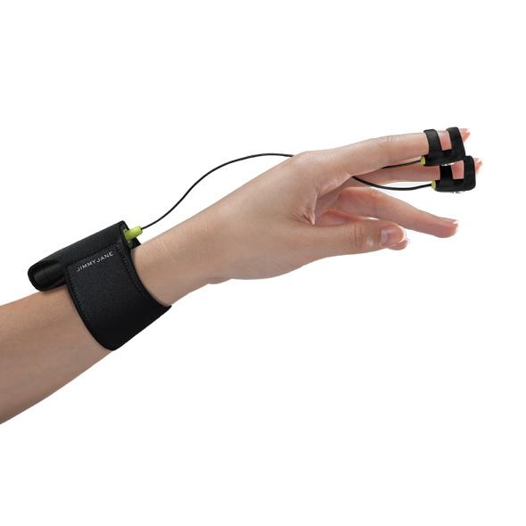 Jimmyjane - Hello Touch Finger Vibrator X Black