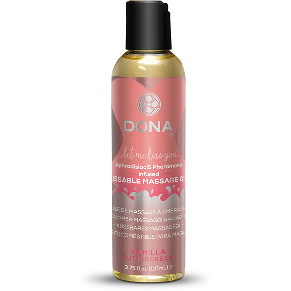 Dona - Kissable Massage Oil Vanilla Buttercream 110 ml