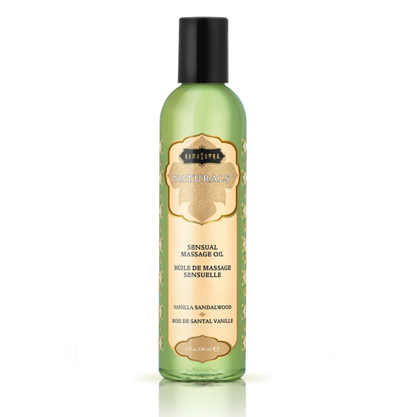 Kama Sutra - Naturals Massage Oil Vanilla Sandalwood