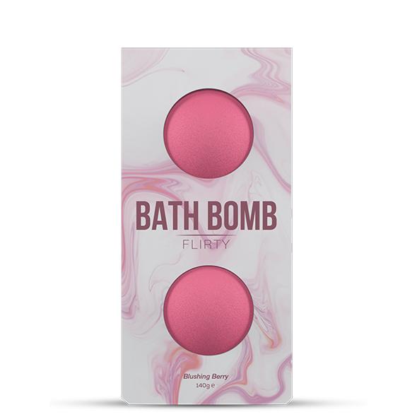 Dona - Bath Bomb Flirty Blushing Berry Bath 140 gram