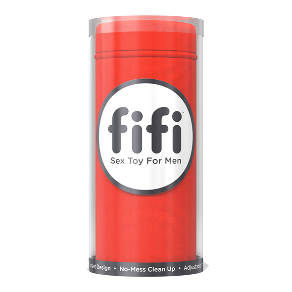 Fifi - Masturbator Red With 5 Sleeves