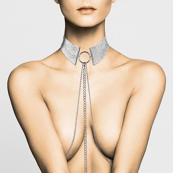 Bijoux Indiscrets - Desir Metallique Collar Silver