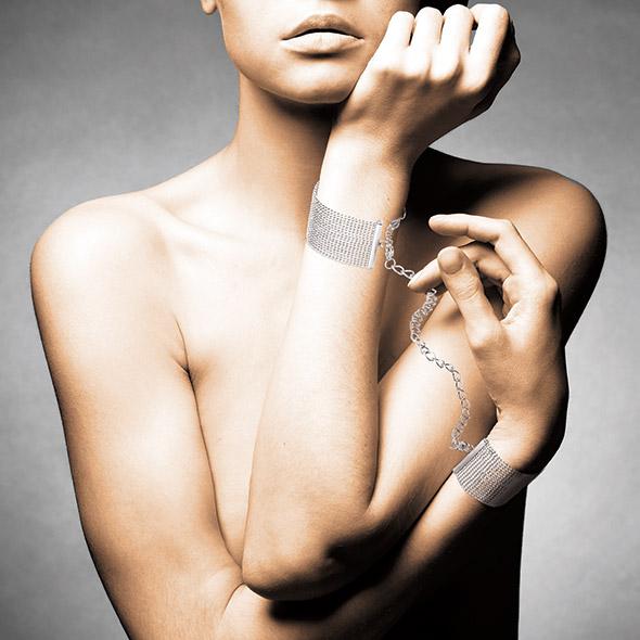 Bijoux Indiscrets - Magnifique Handcuffs Silver