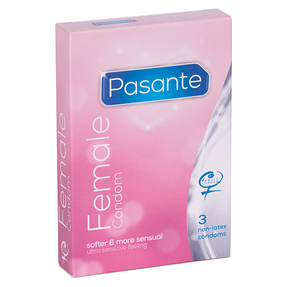 Pasante Female Condom 3 pcs