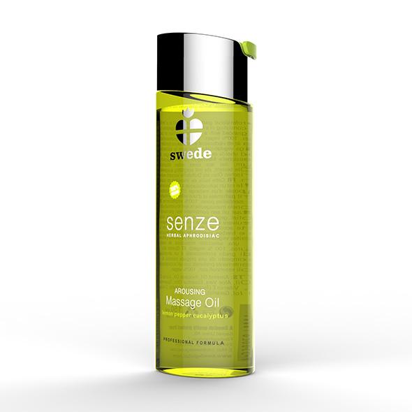Swede - Senze Massage Oil Lemon Pepper Eucalyptus 150 ml