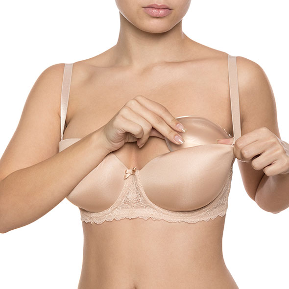 Bye Bra - Half Push-Up Pads Clear