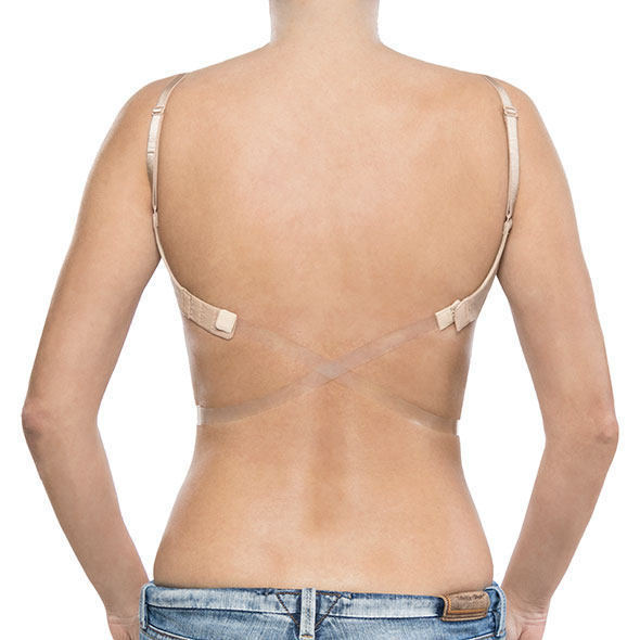 Bye Bra - Transparent Low Back Strap Clear